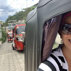 TukTuk Taxi, Atitlan, Guatemala