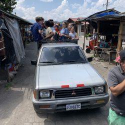 Truck Taxi, Antigua, Guatemala